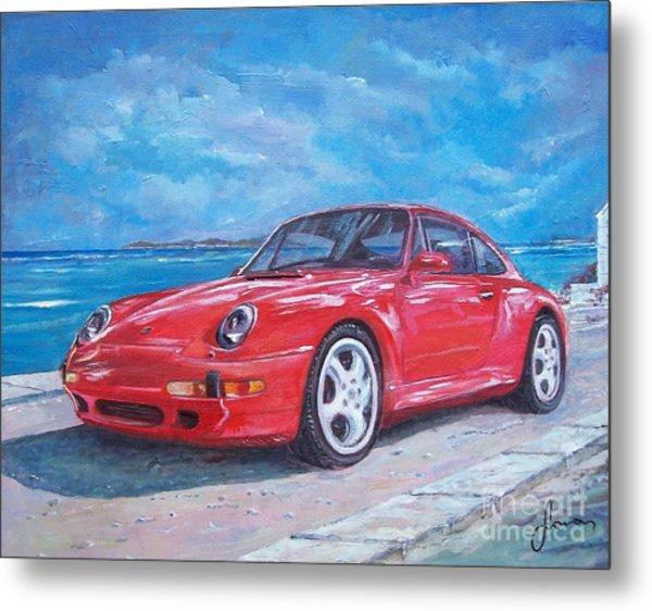 1997 Porsche Carrera S Metal Print