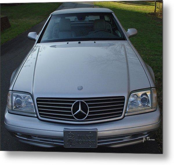 1999 Mercedes Sl500 Metal Print