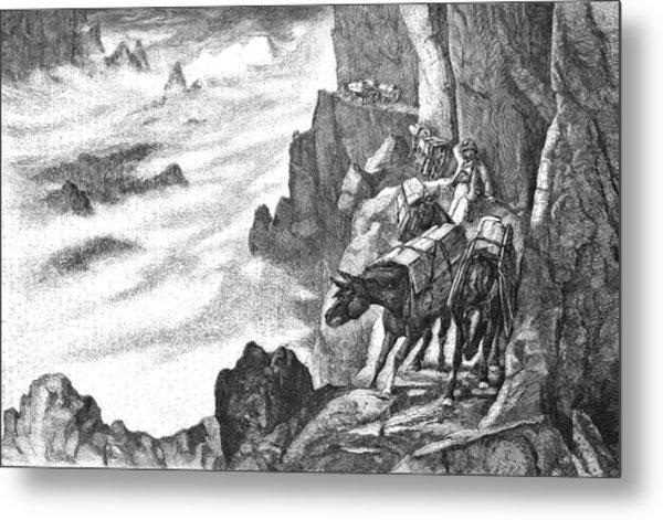 19th Century Smugglers Metal Print by Bildagentur-online/tschanz