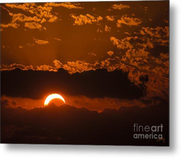 2012 Solar Eclipse Metal Print