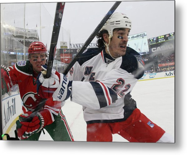 2014 Coors Light Nhl Stadium Series - Metal Print