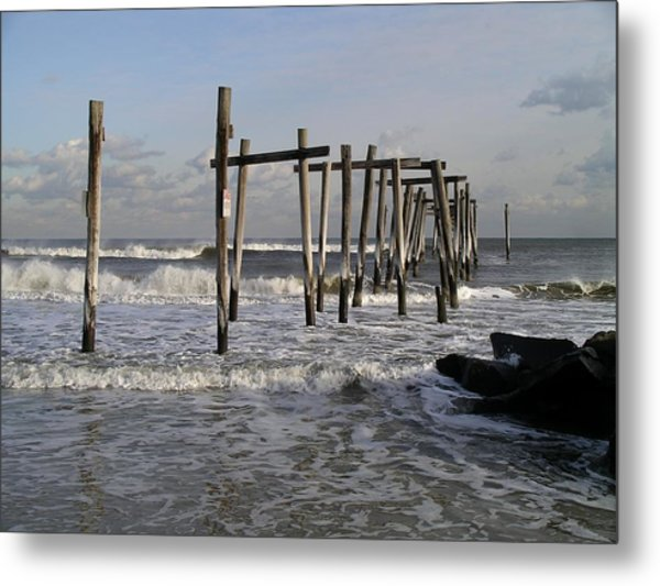 59th St. Pier Metal Print
