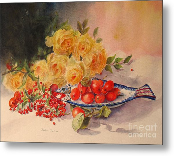 A Berry Or Two Metal Print