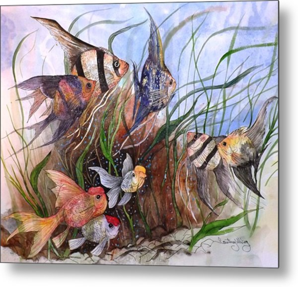 A Fishy Tale Metal Print
