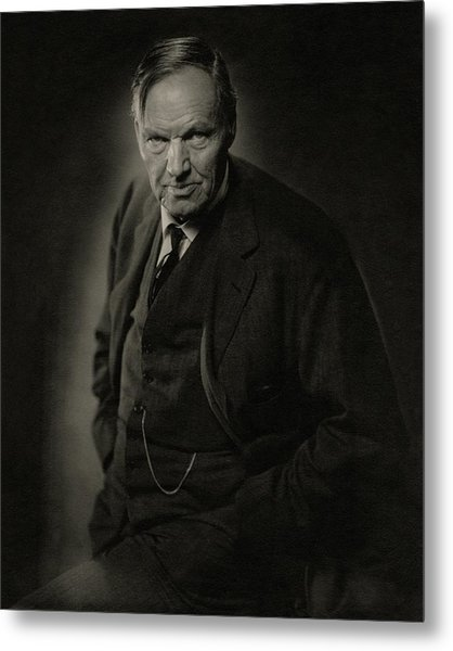 A Portrait Of Clarence Darrow Metal Print by Nickolas Muray