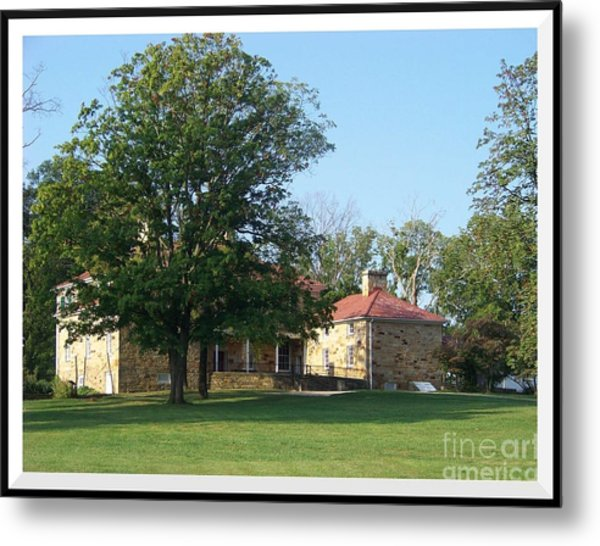 Adena Mansion Metal Print