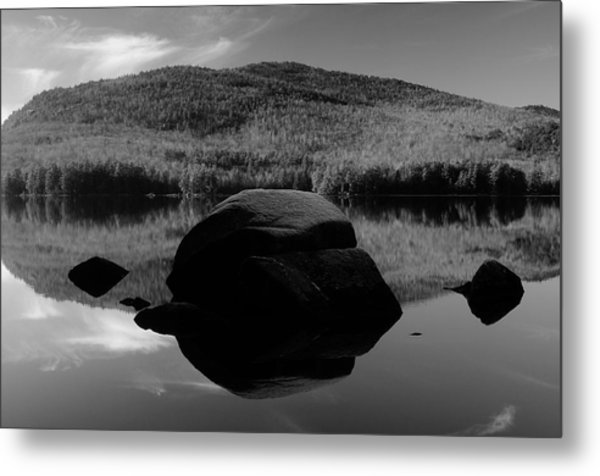 Pharoah Lake Reflections Metal Print
