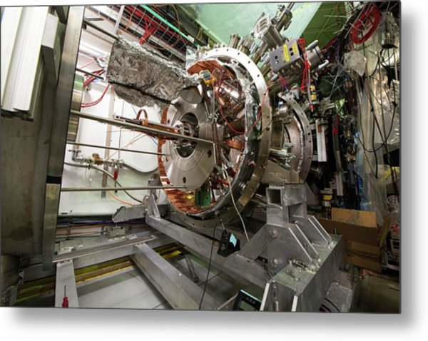 Aegis Experiment At Cern Metal Print by Cern/science Photo Library