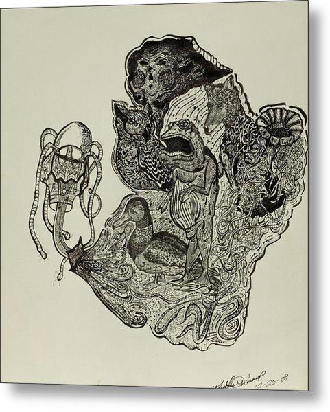 Aesop's Fables  Metal Print by Nickolas Kossup