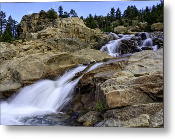 Alluvial Fan Metal Print by Tom Wilbert