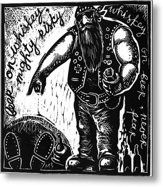 American  Proverbs Metal Print