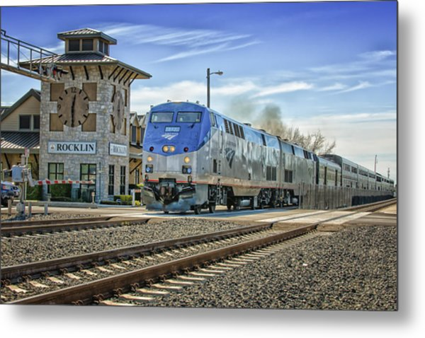 Amtrak 112 Metal Print