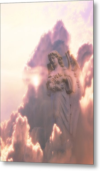 An Angel In The Clouds Metal Print by Jim Zuckerman