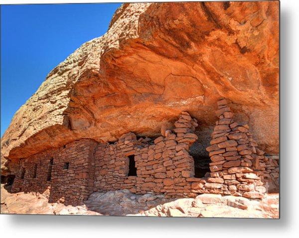 Anasazi Citadel Ruin - Cedar Mesa Metal Print