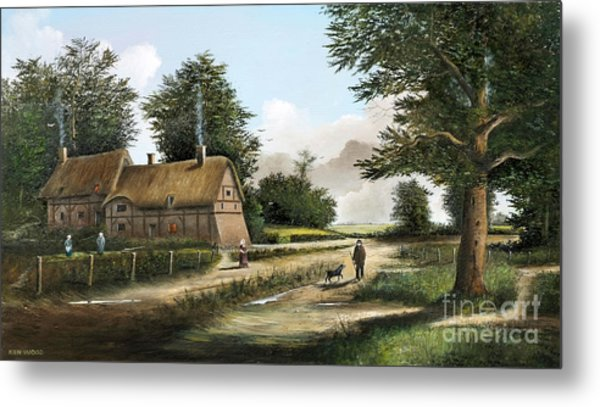 Anne Hathaway's Cottage Metal Print