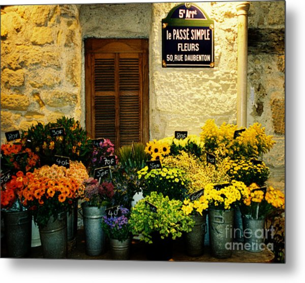 April In Paris Metal Print