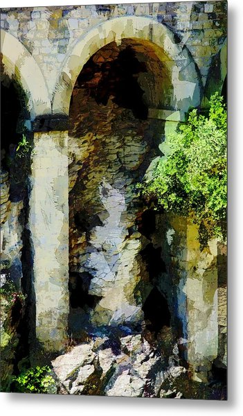 Arches Metal Print