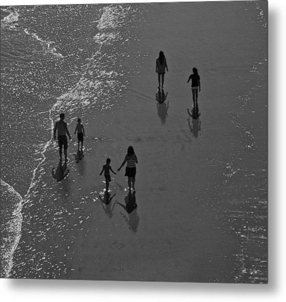 Atlantic City Beach 2 Metal Print by Thomas Camp
