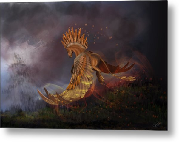 Back From The Nightmare Metal Print