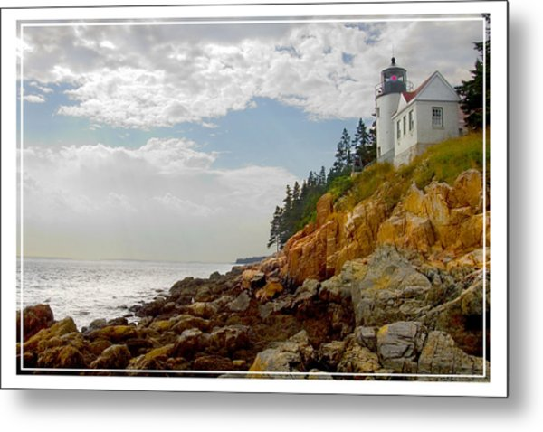 Bass Harbor Head Lighthouse Metal Print