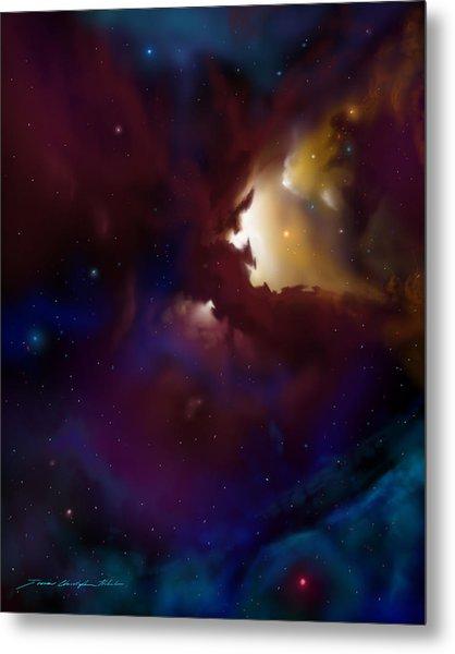 Bat Nebula Metal Print