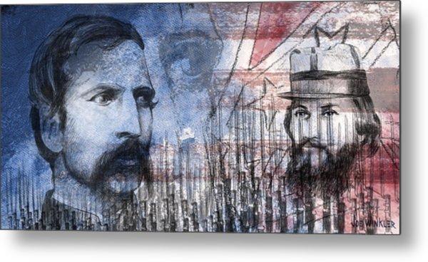Battle Of Gettysburg Tribute Day Two Metal Print