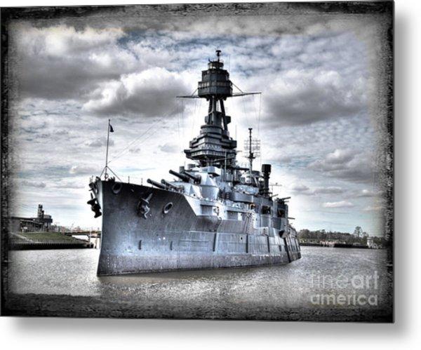 Battleship Texas Metal Print
