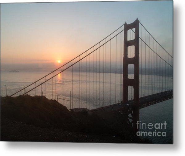 Golden Gate Bridge - 145 Metal Print by Stephen Parker