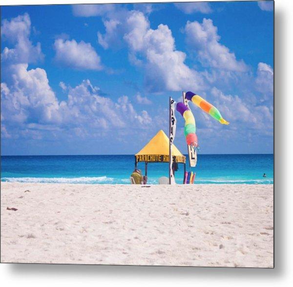 Beach Colors Metal Print by Richie Stewart
