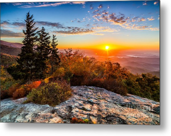 Beacon Heights Sunrise Metal Print
