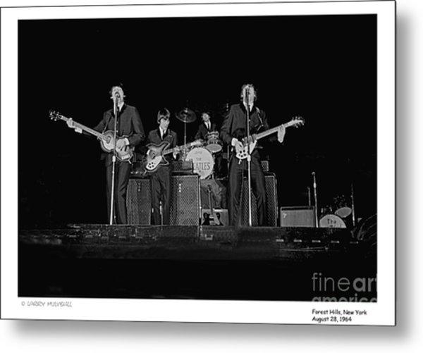 Beatles - 9 Metal Print