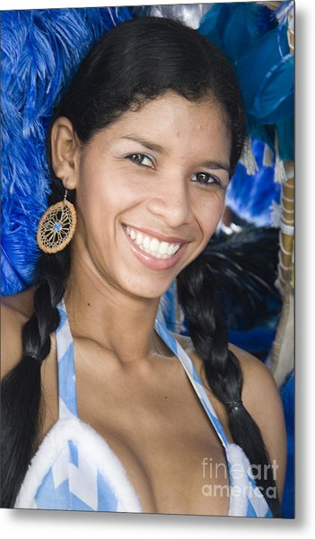 Beautiful Women Of Brazil 12 Metal Print