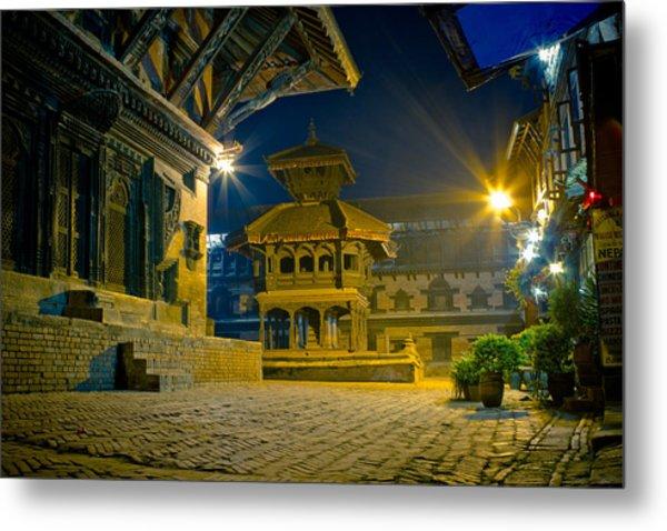 Bhaktapur City Of Devotees Artmif.lv Metal Print
