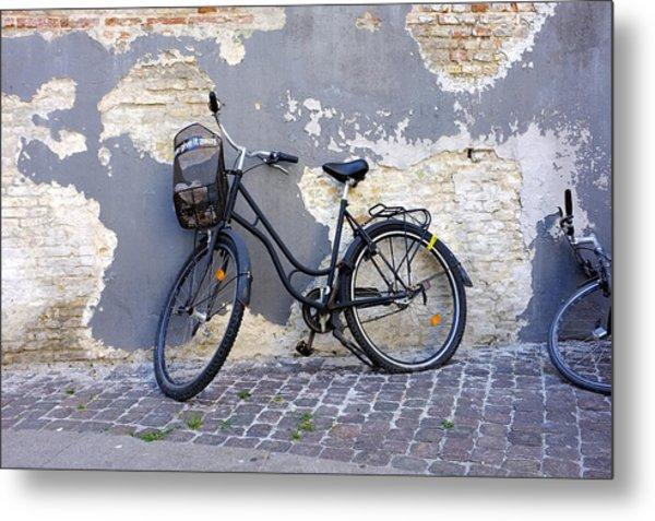 Bicycle Copenhagen Denmark Metal Print
