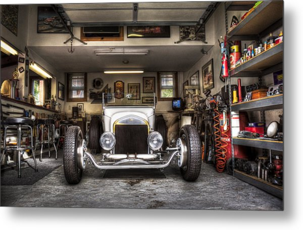 Birth Of A Roadster Metal Print