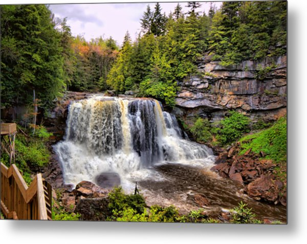 Blackwater Falls Sp Metal Print