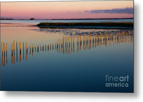 Blackwater Sunset Metal Print