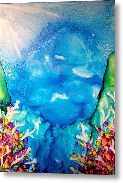 Blue Heaven Metal Print