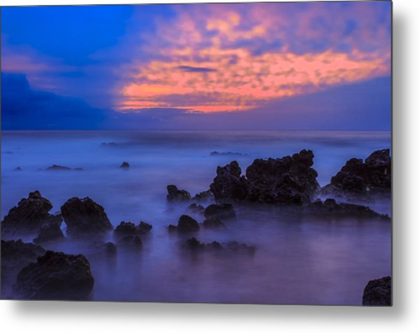 Blue Sunrise 1 Metal Print