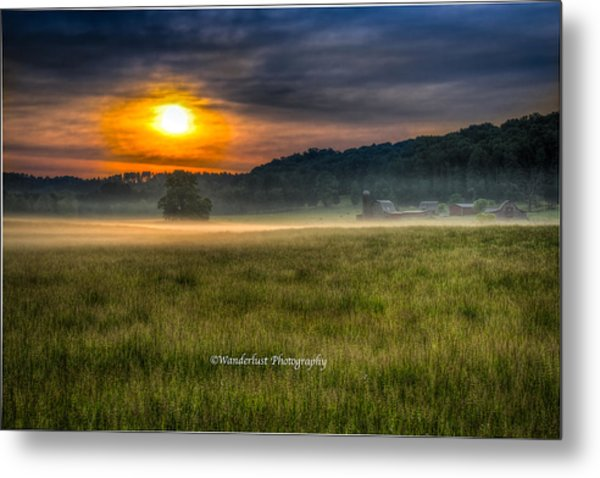 Bohannon Farm  Metal Print by Paul Herrmann