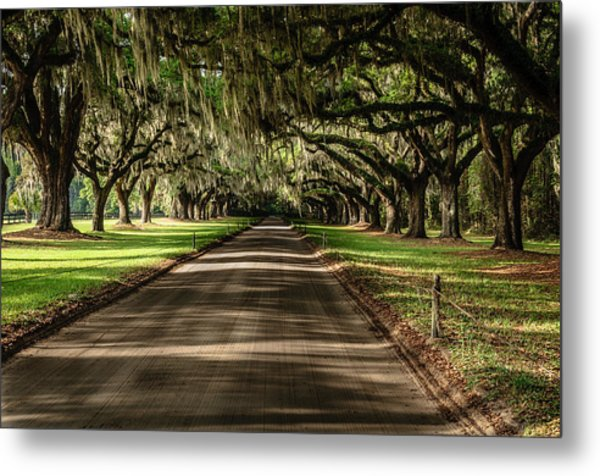 Boone Plantation Road Metal Print