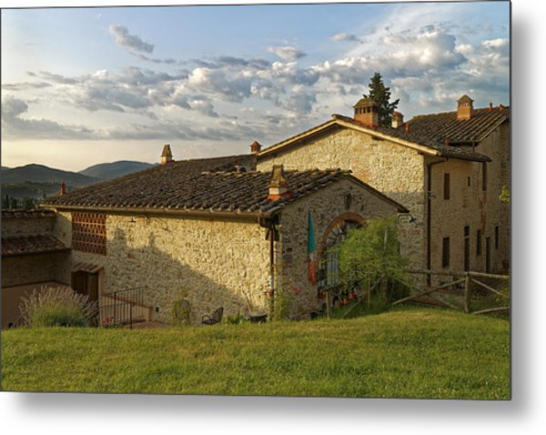 Borgo Bottaia Metal Print