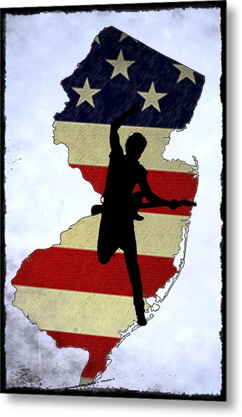 Born In New Jersey Metal Print