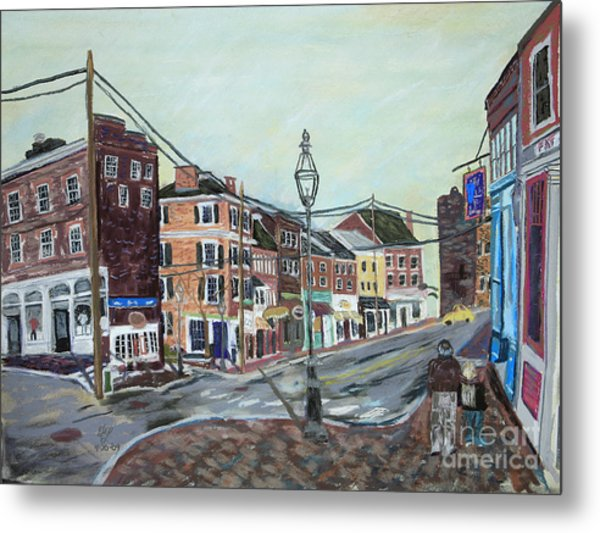 Bow Street As You Were Metal Print