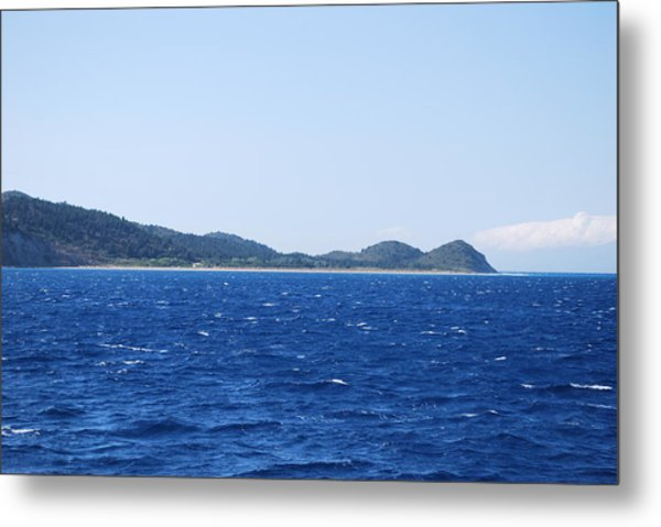 Bragini Beach Metal Print