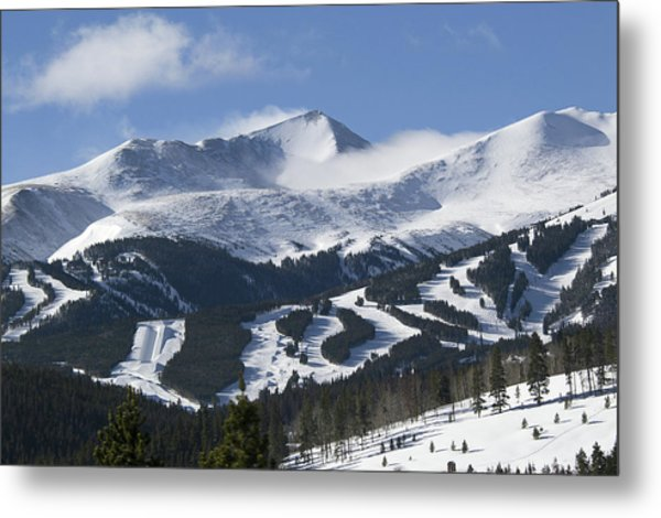 Breckenridge Resort Colorado Metal Print