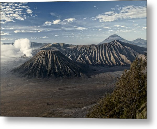 Bromo Mountain Metal Print