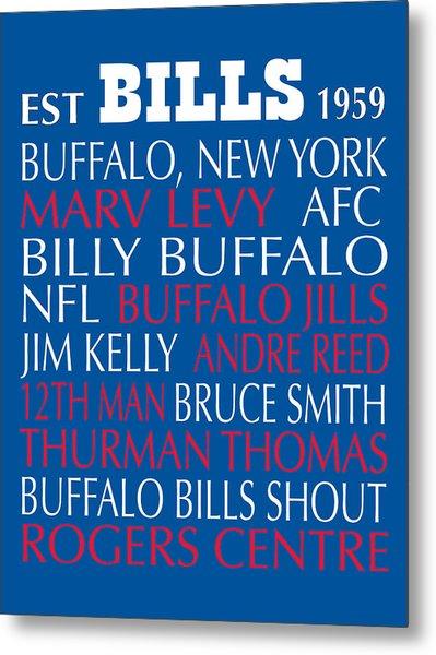 Buffalo Bills Metal Print