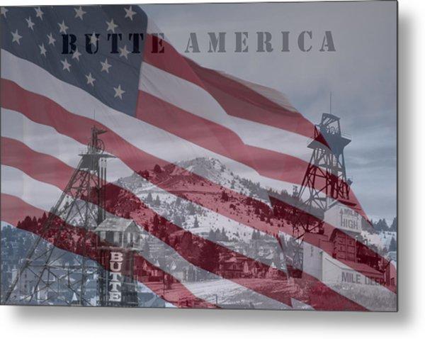Butte America Metal Print