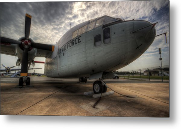 C-119 Flying Boxcar Metal Print